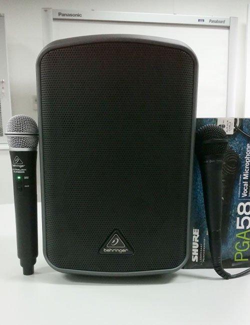 speaker-microphon